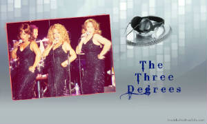 The Three Degrees Wallpaper